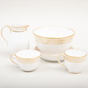 Wedgwood Porcelain Miniature Part Tea Service