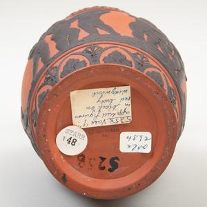Wedgwood Rosso Antico and Black Basalt Vase