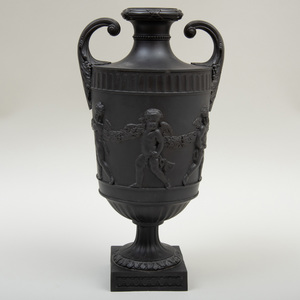 Wedgwood Style Two Handle Vase