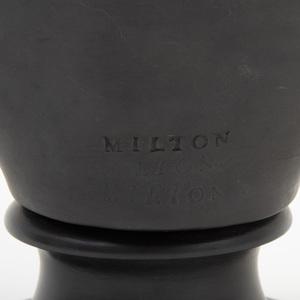 Wedgwood Black Basalt Bust of Milton