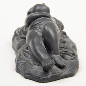 Wedgwood Black Basalt Figure of Somnus