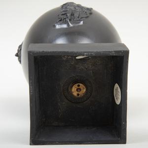 Wedgwood & Bentley Black Basalt Vase