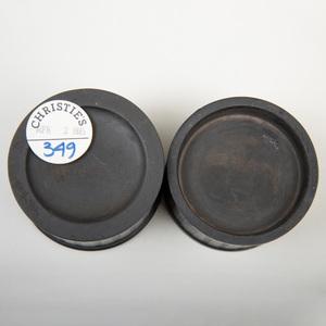 Wedgwood & Bentley Black Basalt Inkstand