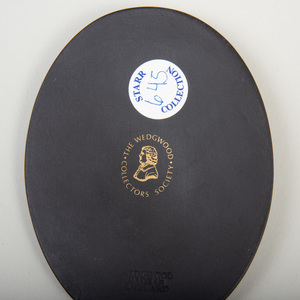 Wedgwood Black Basalt Slave Medallion