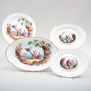 Group of Four Wedgwood Porcelain Tablewares