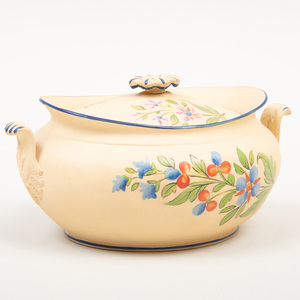 Wedgwood Caneware Sugar Bowl and Cover