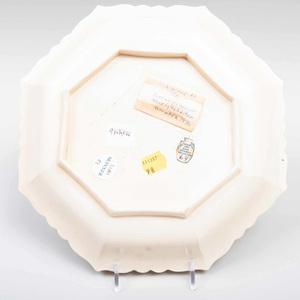Wedgwood Creamware Lobed Octagonal Dish