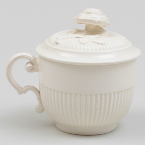 Wedgwood Creamware Cup and Cover