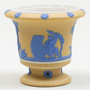 Wedgwood Three Color Jasperware Miniature Vase