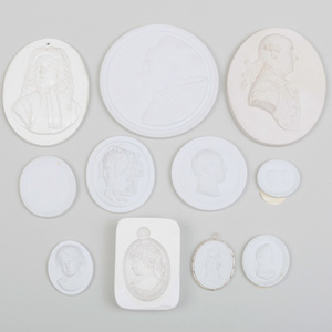 Group of Five Wedgwood and Wedgwood Style Medallions