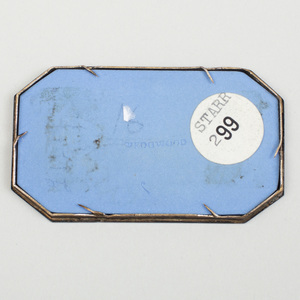 Wedgwood Three-Color Jasperware Rectangular Medallion with Chamfered Corners