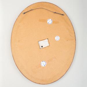 Wedgwood White Jasperware Oval Plaque
