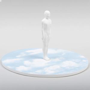 Wedgwood Porcelain Sculpture Sky Plateau II, Designed by Glenys Barton