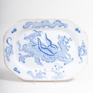 Mason's Ironstone Transfer Printed Blue and White Platter
