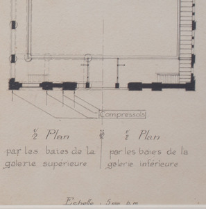 French School:  Manège Couvert: Two Designs