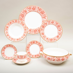 Wedgwood Transfer Printed Porcelain Part Dinner Service