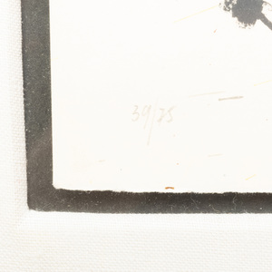 Joan Miro (1893-1983): Je travaille comme un jardinier, Variant