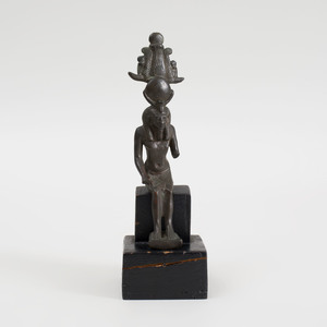 Ancient Egyptian Style Seated Figure