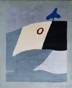 Jean Arp (1886-1966):  Cercle Rouge