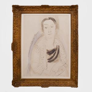Raoul Dufy (1877-1953):  Portrait of Madame Raoul Dufy