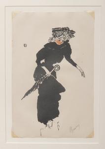 Pierre Bonnard (1867-1947): Femme au parapluie