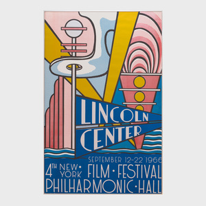 Roy Lichtenstein (1923-1997): New York Film Festival