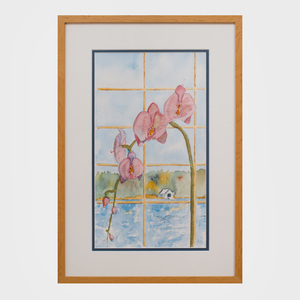 Billy Rayner: Orchid in Window