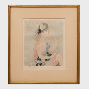 Marie Laurencin (1883-1956): Femme Assise