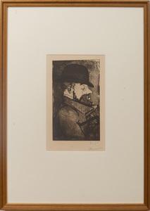 Charles Maurin (1856-1913): Portrait de Toulouse-Lautrec