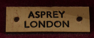 Asprey Brass-Mounted Mahogany Portable Drinks Cabinet