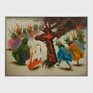 Guillermo Meza ( 1919-1997):Danza de la Cruz Negra