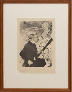 Henri de Toulouse-Lautrec (1864-1901): Pour toi!, From Les Vieilles Histoires