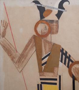 Attributed to Anatoli Petritsky (1895-1964): Costume Design for Ballet