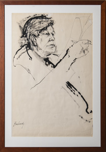 Don Bachardy (b. 1934): Portrait of W.H. Auden