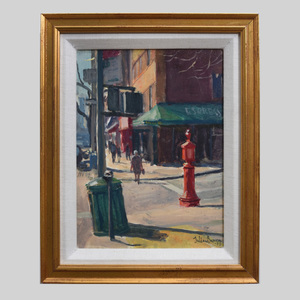 Julian Barrow (1939-2013): Lexington Ave at 91st St