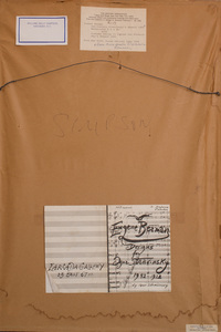 Eugene Berman (1899-1972):  Set Curtain; and Costume Design, for Stravinsky's Renard