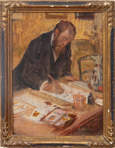 P. Bertauld: Portrait of Phillipe Bin
