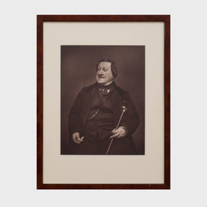 Étienne Carjat (1828-1906): Portrait of Gioachino Rossini