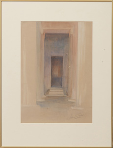 Howard Carter (1874-1939): Entryway in an Egyptian Tomb