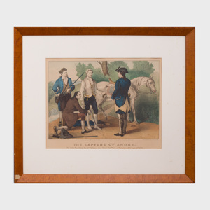 Currier & Ives, Publishers: Capture of Andre
