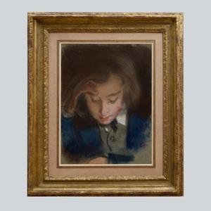 Edme-Alexis-Alfred Dehodencq (1822-1882): Portrait of Edmond Dehodencq, The Artist's Son