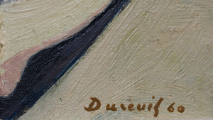 Michel Dureuil (1929-2011): Boats at Le Cap d'Antibes