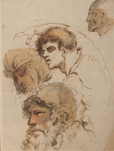 James Gillray (1757-1815): Head Studies