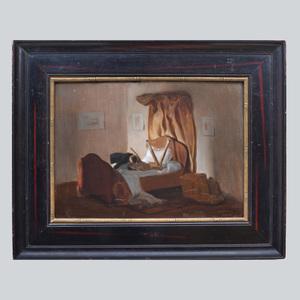 Henri Goussé (1872-1914): Couple au lit