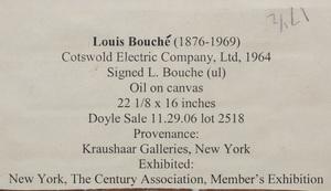 Louis Bouché (1896-1969): Cotswold Electric Company, Ltd.