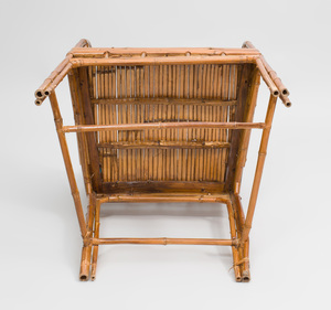Chinese Export Bamboo Arm Chair