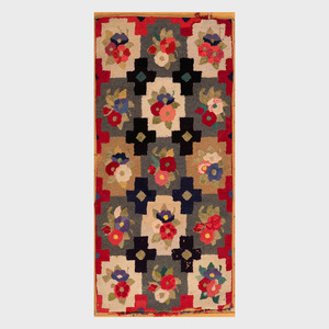 Two Small Hooked Rugs