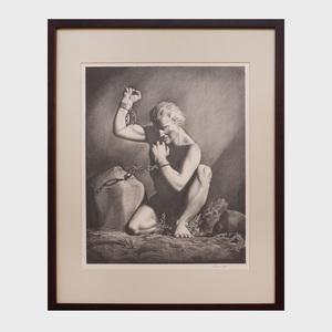 Rockwell Kent (1887-1971):  Prometheus Unchained