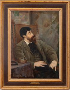 Henri LeRiche (1868-1944):Portrait of Charles Delacour