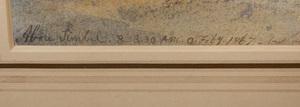 Edward Lear (1812-1888): Abu Simbel, Egypt
